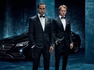 Lewis Hamilton Champion du monde avec Mercedes.