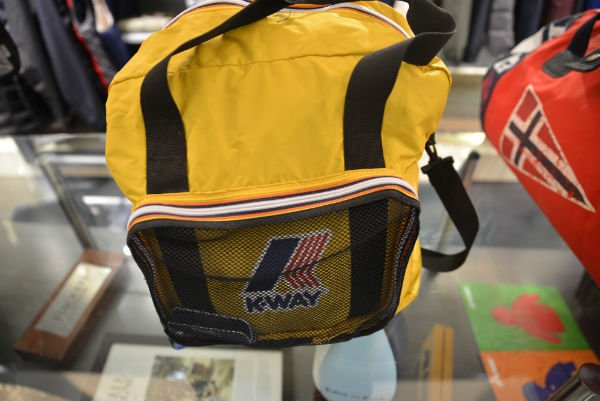 sac k-way jaune pliable