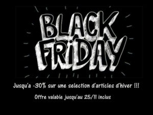 BLACK FRIDAY COORDONNABLE